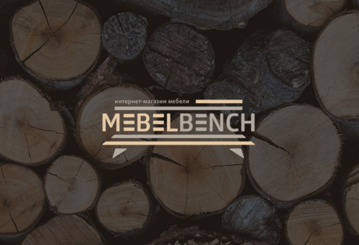Логотип для интернет-магазина MebelBench